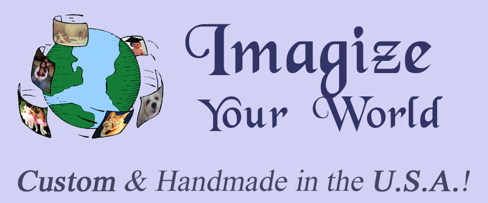 A welcome banner for Imagize Your World
