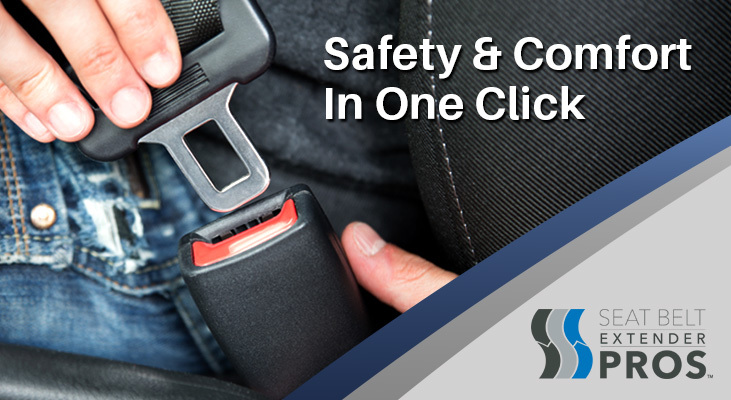 A welcome banner for Seat Belt Extender Pros - The #1 Seat Belt Extender Brand in the World