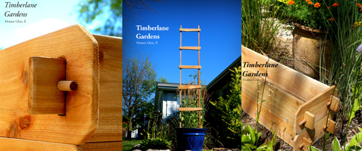 A welcome banner for Timberlane Gardens