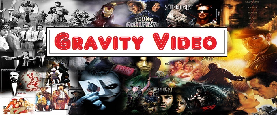 A welcome banner for Gravity Video - A warehouse of low price Blu-ray, DVD, and video for any budget!