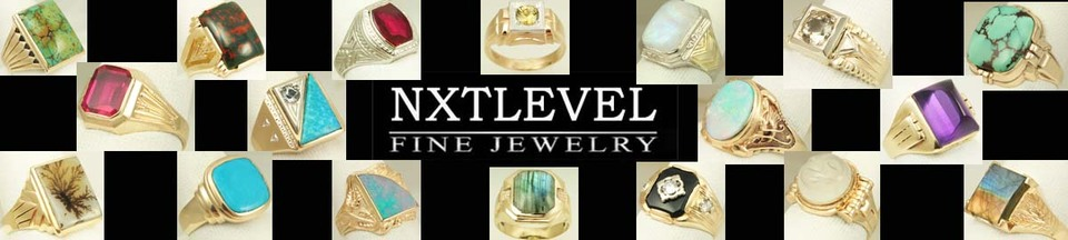 A welcome banner for NXT Level Fine Jewelry