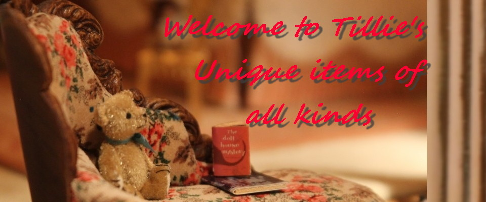 A welcome banner for Tillie's