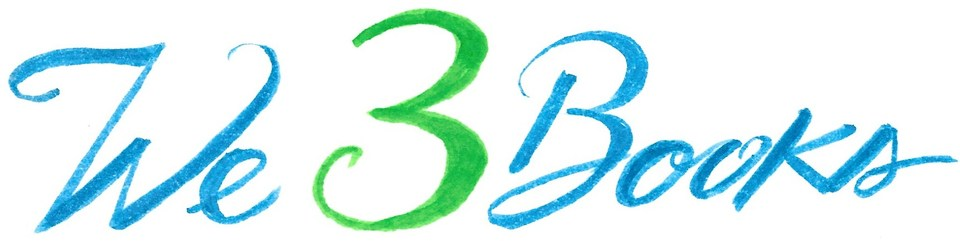 A welcome banner for We 3 Books