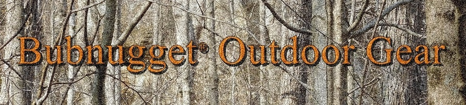A welcome banner for Bubnugget® Outdoor Gear
