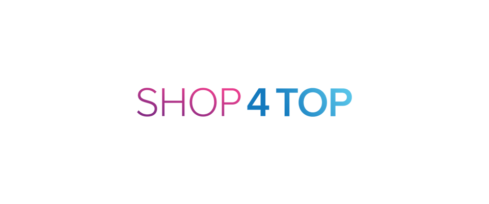 A welcome banner for SHOP4TOP