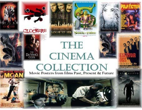 A welcome banner for The Cinema Collection