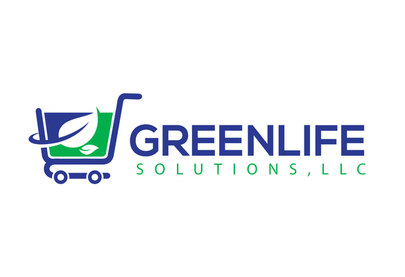 A welcome banner for Greenlife Solution's booth