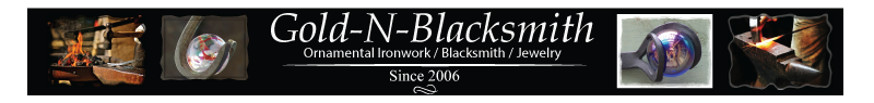 A welcome banner for Gold-N-Blacksmith