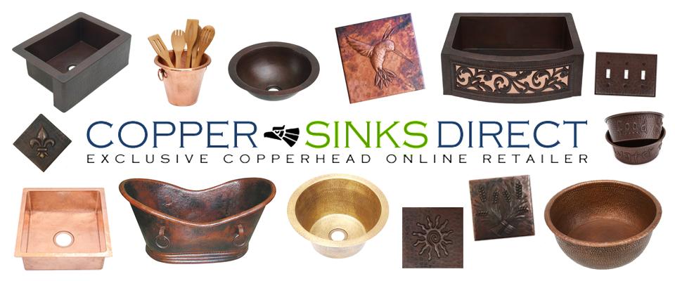 Superior Copper Sinks Direct