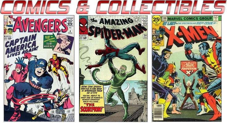 Comics collectibles logo thumb960