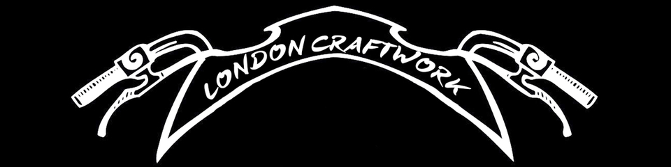 A welcome banner for London Craftwork