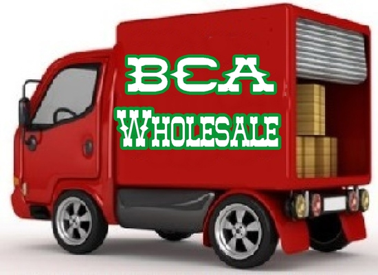 A welcome banner for BCA Wholesale