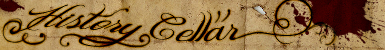 A welcome banner for history_cellar's  booth