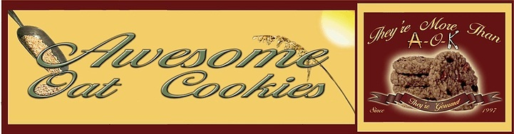 A welcome banner for Awesome Oat Cookies Gourmet Cookie Gift Basket Delivery | Awesome_ Exchange