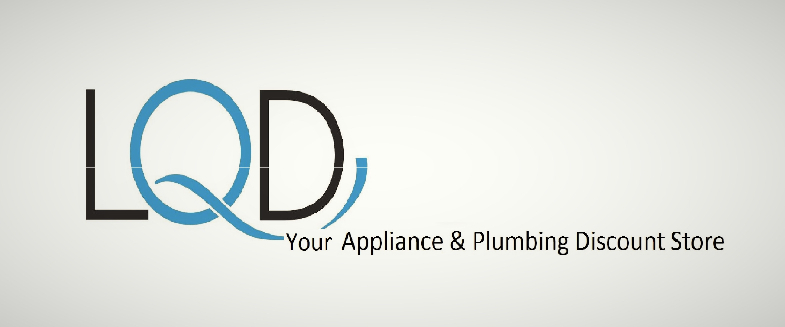 A welcome banner for LQD Deals.  Your Appliance and Plumbing Discount Store
