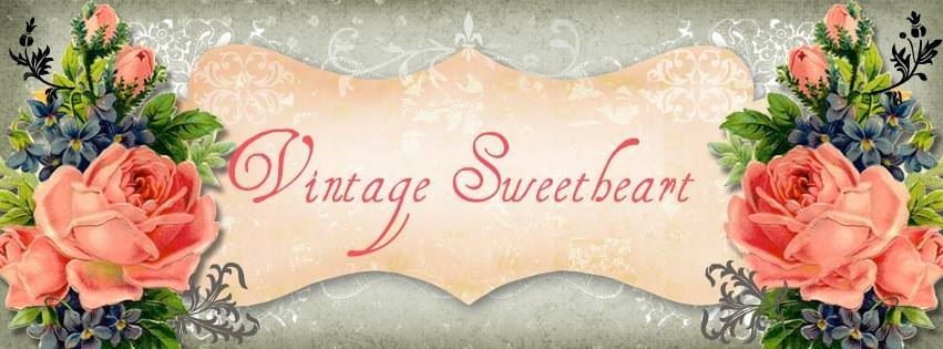 A welcome banner for VintageSweetheart