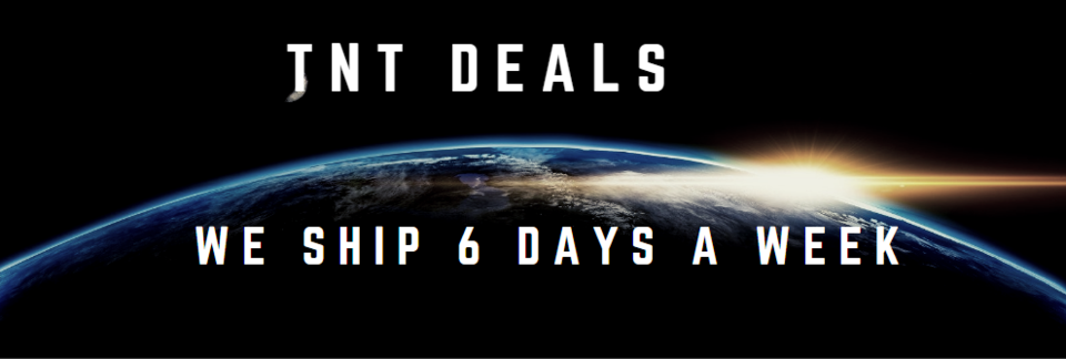 A welcome banner for TnT Deals