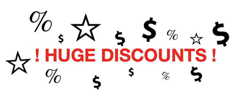 big_on_discounts的欢迎标语