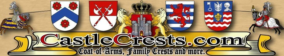 A welcome banner for castlecrests (Coat of Arms / Family Crests / Ancient History / Geneology / etc.)