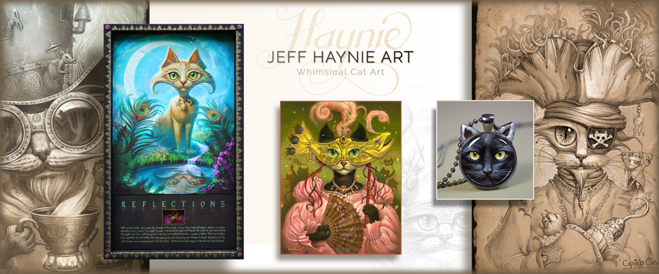Jeff Haynie Cat Art At Bonanza Jewelry Watches Necklaces