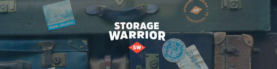 A welcome banner for Storage Warrior