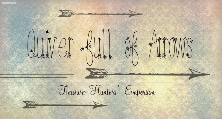 A welcome banner for Quiver Full of Arrows