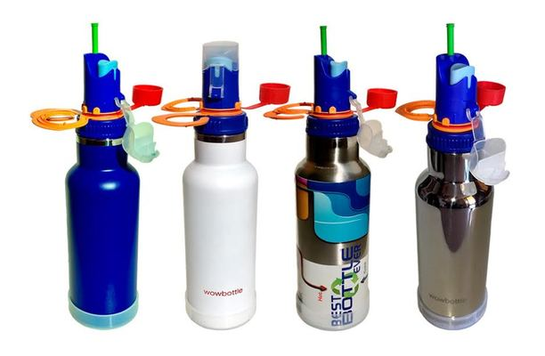 A welcome banner for Best Bottle Ever™ - All-In-One Sports Water insulated steel bottle