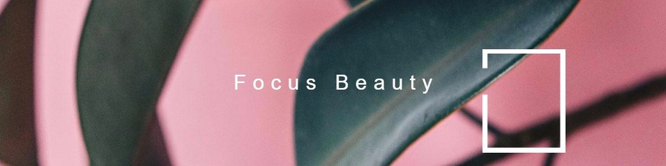 A welcome banner for FocusBeauty