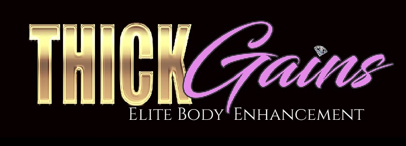 A welcome banner for THICK Gains Elite Body Enhancement