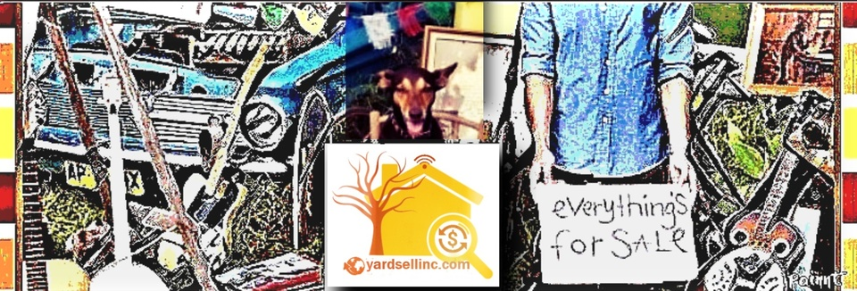 A welcome banner for yardsellinc.com (Another GREAT idea by Resell Unlimited LLC!)