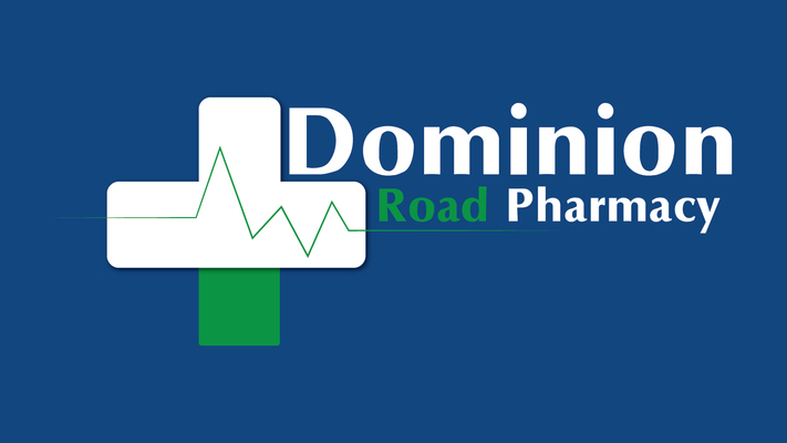 A welcome banner for Dominion Road Pharmacy