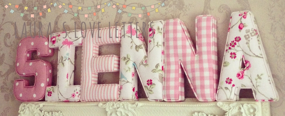 Laura S Love Letters Fabric And Lots More For Your Nursery
