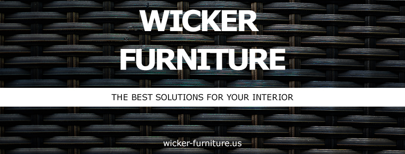 A welcome banner for Wicker Furniture