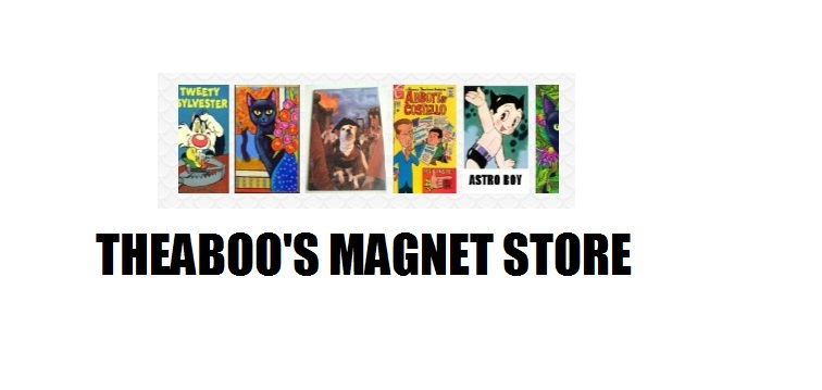 A welcome banner for Theaboo's Magnet Store