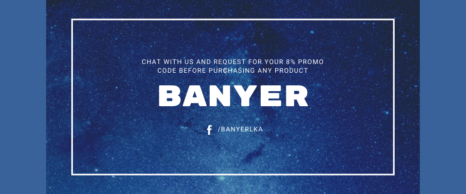 A welcome banner for BANYER