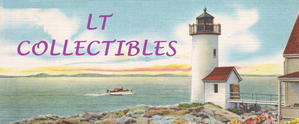 A welcome banner for Lillian Thomas Collectibles