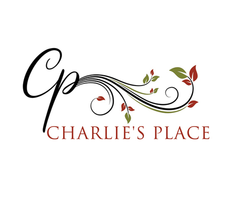 A welcome banner for Charlie's Place