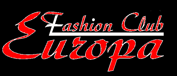 A welcome banner for Europa Fashion's store