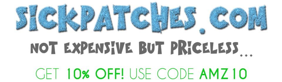 A welcome banner for Sick Patches