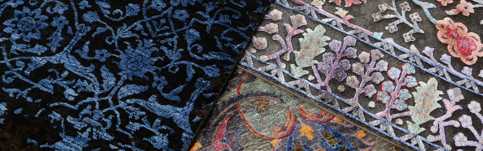 A welcome banner for ADC Rugs