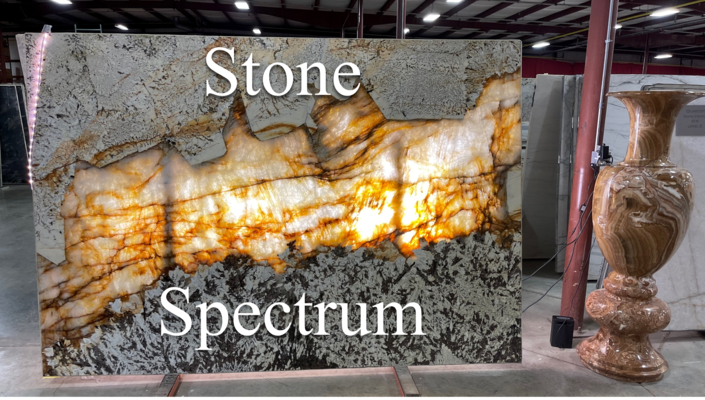A welcome banner for Stone Spectrum
