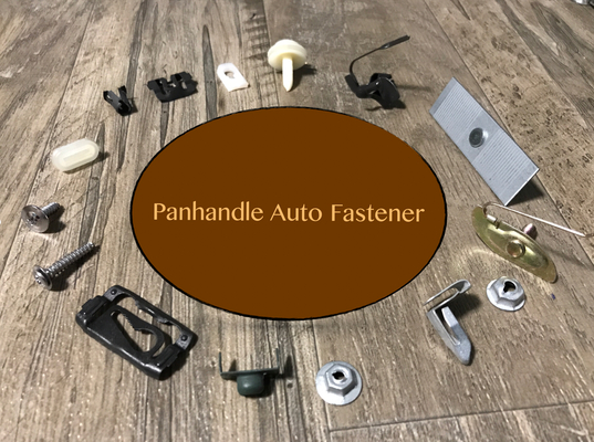 A welcome banner for Panhandle Auto Fastener