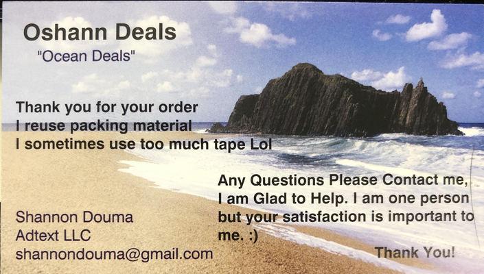 """A welcome banner for Oshann Deals """"Ocean Deals"""""""