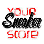 A welcome banner for Your Sneaker Store