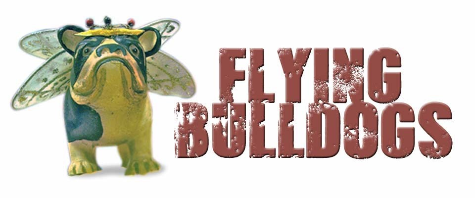 A welcome banner for Flying Bulldogs