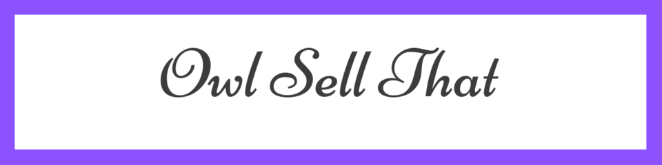 A welcome banner for Alison's store