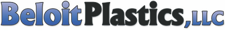 A welcome banner for Beloit Plastics's Booth
