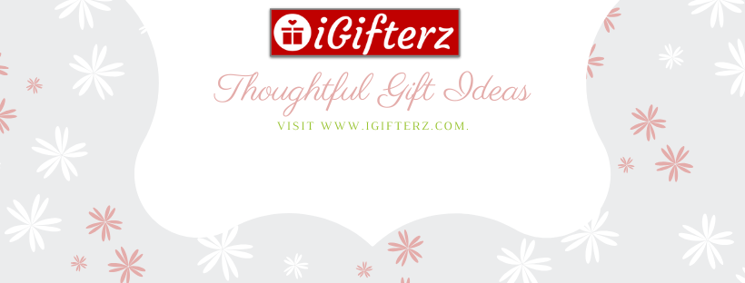 A welcome banner for iGifterz Fashion & Home