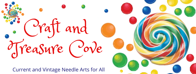 A welcome banner for Craft and Treasure Cove