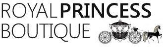 A welcome banner for Royal Princess Boutique